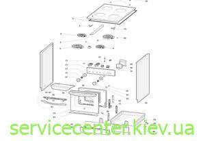 Запчасти и комплектующие для электроплит и газовых плит